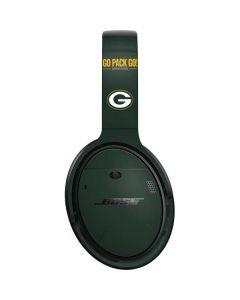 Green Bay Packers Team Motto Bose QuietComfort 35 Headphones Skin