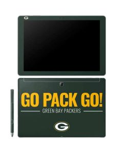 Green Bay Packers Team Motto Galaxy Book 10.6in Skin