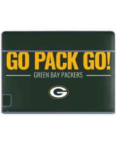 Green Bay Packers Team Motto Galaxy Book Keyboard Folio 10.6in Skin