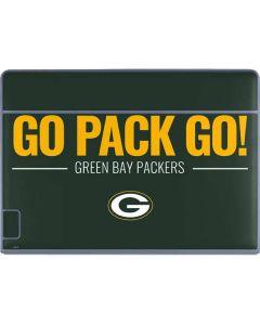 Green Bay Packers Team Motto Galaxy Book Keyboard Folio 12in Skin