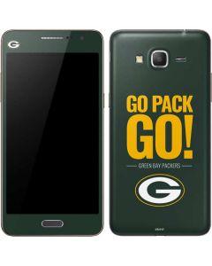 Green Bay Packers Team Motto Galaxy Grand Prime Skin