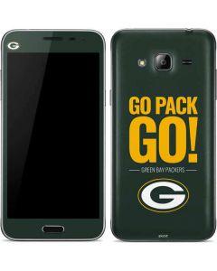 Green Bay Packers Team Motto Galaxy J3 Skin