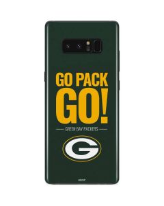 Green Bay Packers Team Motto Galaxy Note 8 Skin