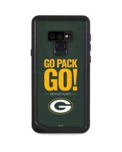 Green Bay Packers Team Motto Galaxy Note 9 Waterproof Case