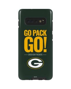 Green Bay Packers Team Motto Galaxy S10 Plus Pro Case