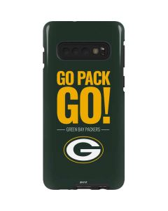 Green Bay Packers Team Motto Galaxy S10 Pro Case
