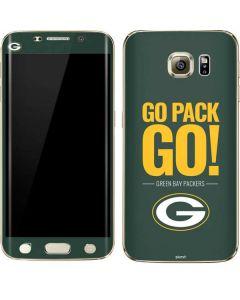 Green Bay Packers Team Motto Galaxy S6 edge+ Skin