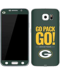 Green Bay Packers Team Motto Galaxy S6 Skin