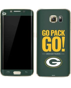 Green Bay Packers Team Motto Galaxy S7 Edge Skin