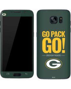 Green Bay Packers Team Motto Galaxy S7 Skin