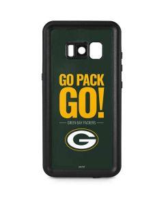 Green Bay Packers Team Motto Galaxy S8 Plus Waterproof Case