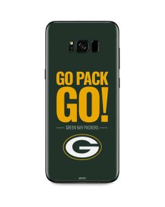 Green Bay Packers Team Motto Galaxy S8 Skin