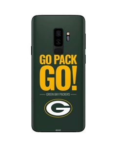 Green Bay Packers Team Motto Galaxy S9 Plus Skin