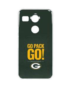 Green Bay Packers Team Motto Google Nexus 5X Clear Case