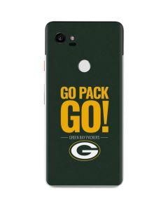 Green Bay Packers Team Motto Google Pixel 2 XL Skin