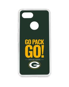 Green Bay Packers Team Motto Google Pixel 3 Clear Case