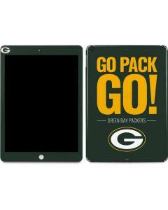 Green Bay Packers Team Motto Apple iPad Skin