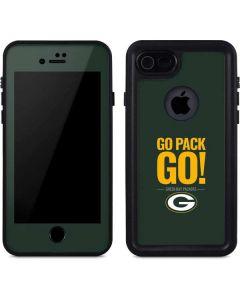 Green Bay Packers Team Motto iPhone 8 Waterproof Case