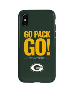 Green Bay Packers Team Motto iPhone X Pro Case