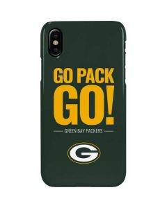 Green Bay Packers Team Motto iPhone XS Max Lite Case
