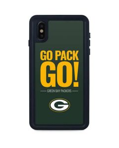 Green Bay Packers Team Motto iPhone XS Max Waterproof Case