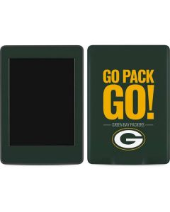Green Bay Packers Team Motto Amazon Kindle Skin