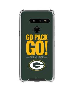 Green Bay Packers Team Motto LG G8 ThinQ Clear Case