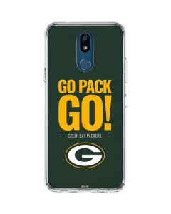 Green Bay Packers Team Motto LG K30 Clear Case