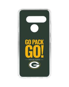 Green Bay Packers Team Motto LG V40 ThinQ Clear Case