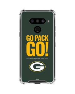 Green Bay Packers Team Motto LG V50 ThinQ Clear Case