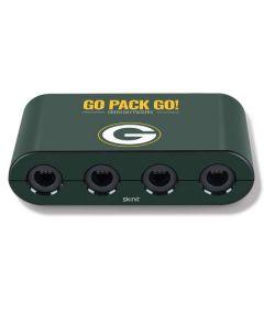 Green Bay Packers Team Motto Nintendo GameCube Controller Adapter Skin
