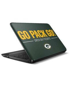 Green Bay Packers Team Motto HP Notebook Skin