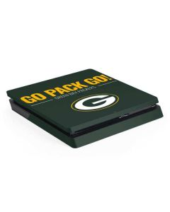 Green Bay Packers Team Motto PS4 Slim Skin