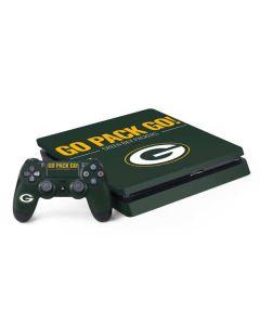 Green Bay Packers Team Motto PS4 Slim Bundle Skin