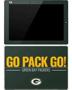 Green Bay Packers Team Motto Surface 3 Skin