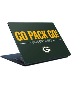 Green Bay Packers Team Motto Surface Laptop Skin