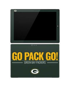 Green Bay Packers Team Motto Surface Pro 3 Skin