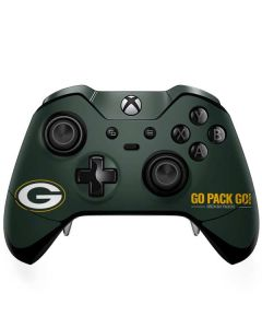Green Bay Packers Team Motto Xbox One Elite Controller Skin
