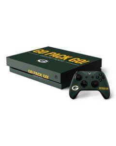 Green Bay Packers Team Motto Xbox One X Bundle Skin
