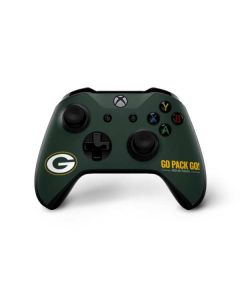 Green Bay Packers Team Motto Xbox One X Controller Skin