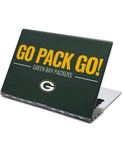 Green Bay Packers Team Motto Yoga 910 2-in-1 14in Touch-Screen Skin