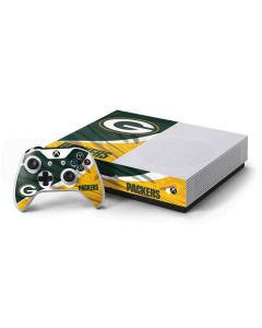 Green Bay Packers Xbox One S Console and Controller Bundle Skin