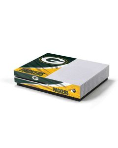 Green Bay Packers Xbox One S Console Skin