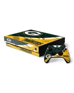 Green Bay Packers Xbox One X Bundle Skin