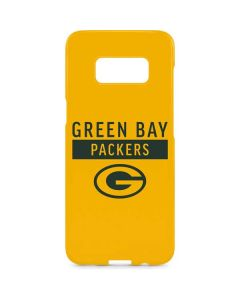Green Bay Packers Yellow Performance Series Galaxy S8 Plus Lite Case