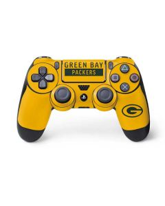 Green Bay Packers Yellow Performance Series PS4 Controller Skin