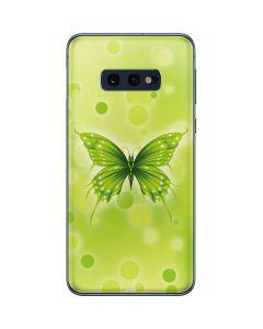 Green Butterfly Galaxy S10e Skin