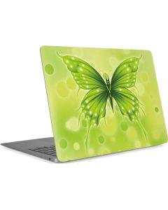 Green Butterfly Apple MacBook Air Skin
