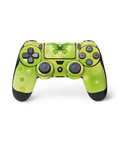 Green Butterfly PS4 Pro/Slim Controller Skin