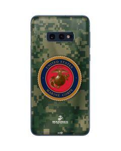 Green Camo Marine Corps Galaxy S10e Skin